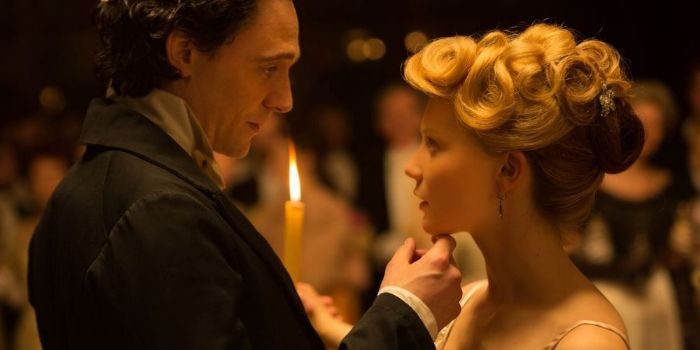 Tom Hiddleston and Mia Wasikowska