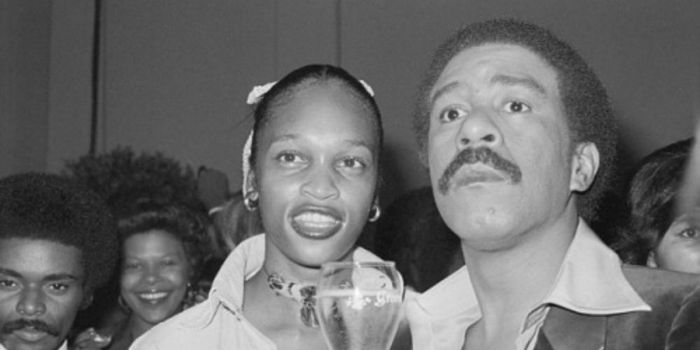 Richard Pryor and Deborah McGuire