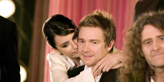 Martin Freeman and Penélope Cruz