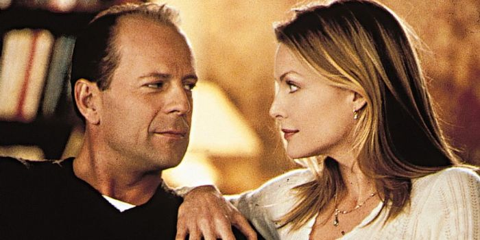 Bruce Willis and Michelle Pfeiffer