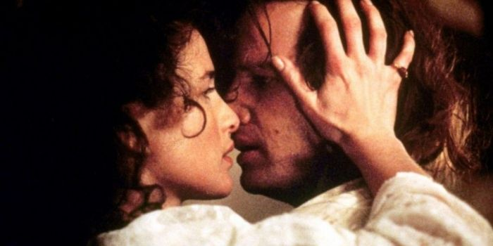 Andie MacDowell and Christopher Lambert
