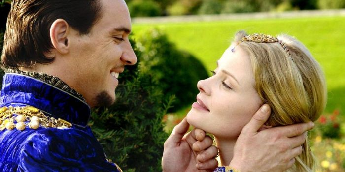 Jonathan Rhys Meyers and Anita Briem