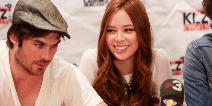 Ian Somerhalder and Malese Jow