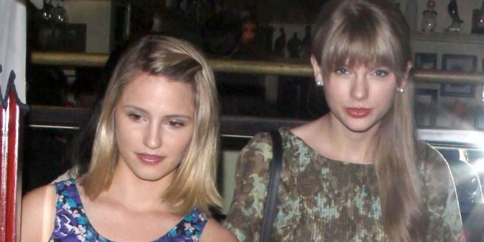 Taylor Swift and Dianna Agron