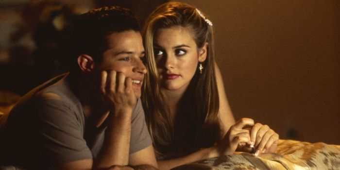 Alicia Silverstone and Justin Walker