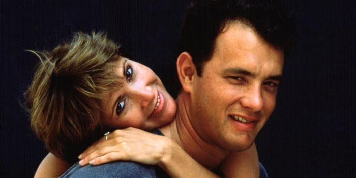 Tom Hanks and Carrie Fisher