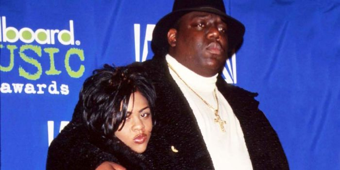 Lil' Kim and Notorious B.I.G.