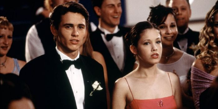 James Franco and Marla Sokoloff