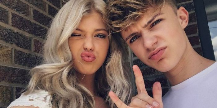 Loren Gray and HRVY