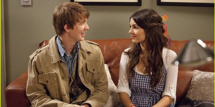 Victoria Justice and Thomas Mann