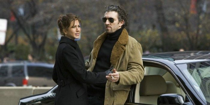 Vincent Cassel and Jennifer Aniston