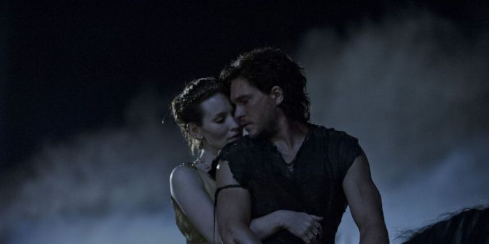 Kit Harington and Emily Browning
