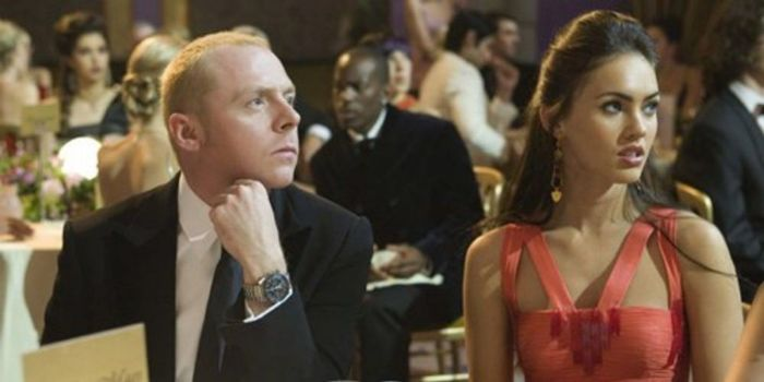 Megan Fox and Simon Pegg