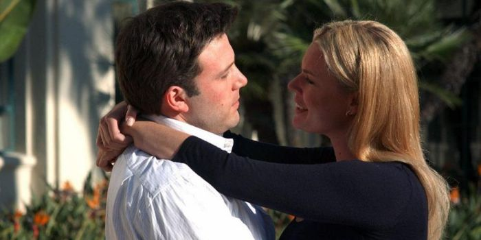 Ben Affleck and Rebecca Romijn