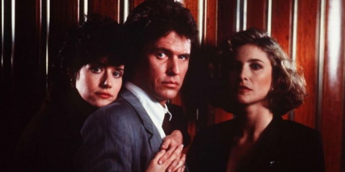 Tom Berenger and Mimi Rogers