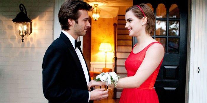 Reece Thompson and Emma Watson
