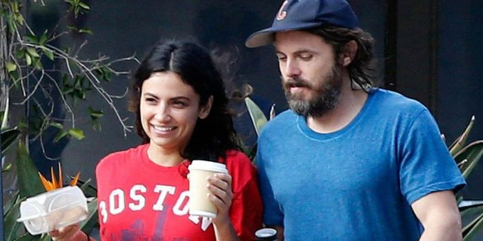 Boyfriend and Girlfriend couple, Floriana Lima and Casey Affleck, Having great time together