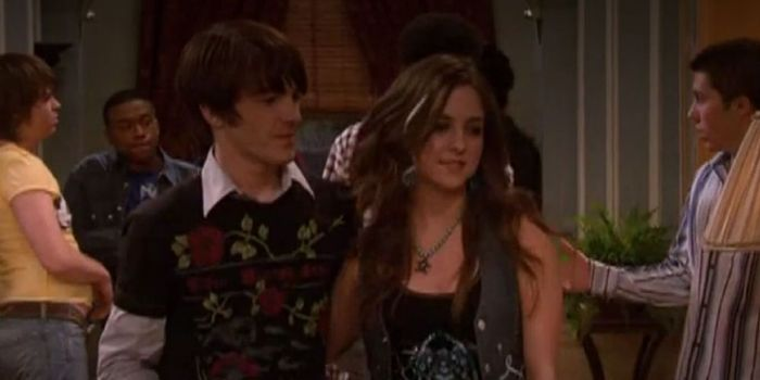 Drake Bell and Brittany Curran