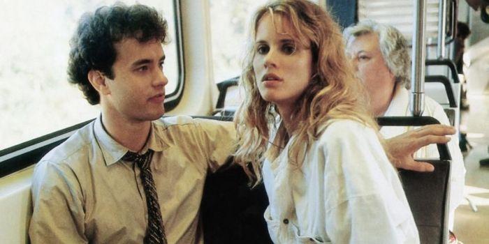 Tom Hanks and Lori Singer
