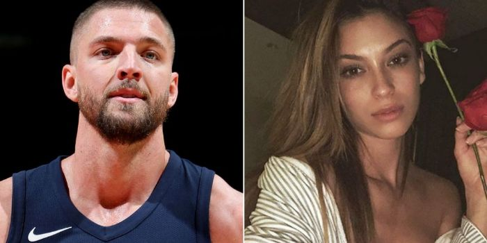 Chandler Parsons and Cassie Amato