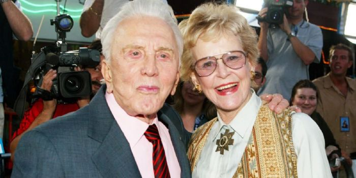 Diana Dill Douglas and Kirk Douglas