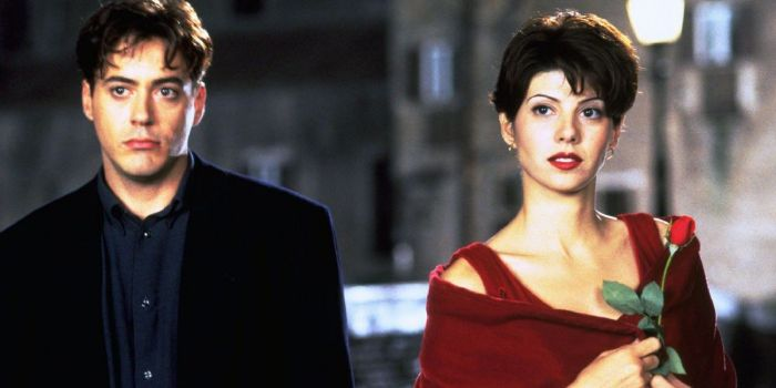 robert downey jr and marisa tomei relationship