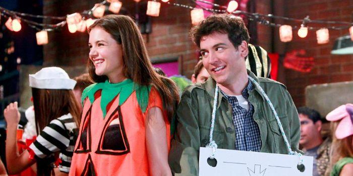 Katie Holmes and Josh Radnor