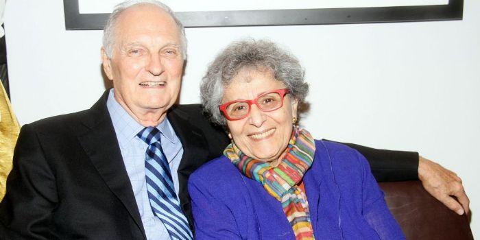 Arlene Alda and Alan Alda