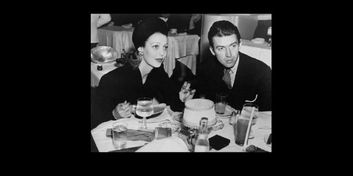 Jimmy Stewart and Loretta Young