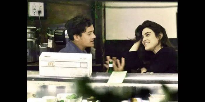 Orlando Bloom and Luisa Moraes