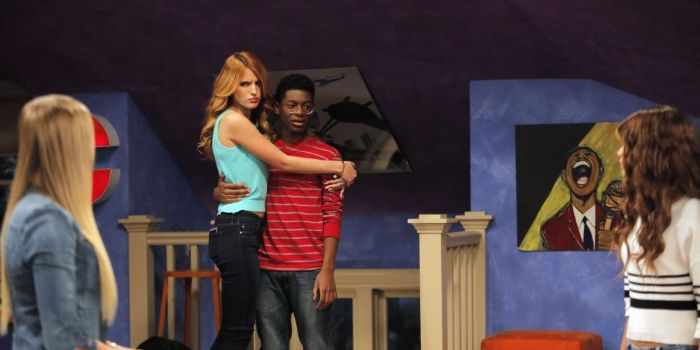 Bella Thorne and Kamil McFadden