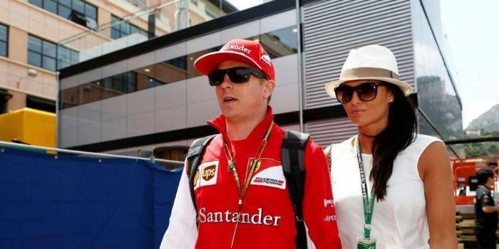 Kimi Räikkönen and Minna Nieminen I