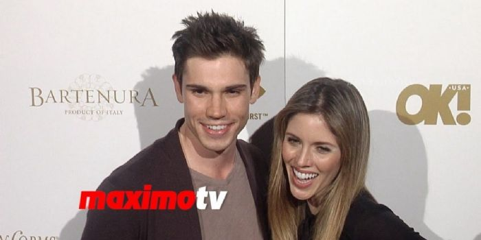 Kayla Ewell and Tanner Novlan
