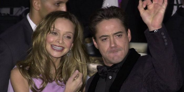 Robert Downey, Jr. and Calista Flockhart