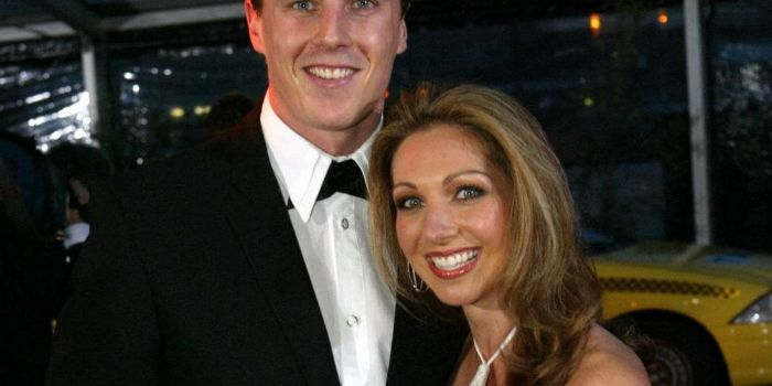 Matthew Lloyd and Lisa-Marie Caparello
