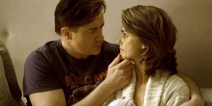 Keri Russell and Brendan Fraser