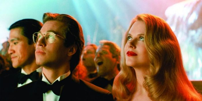 Nicole Kidman and Val Kilmer