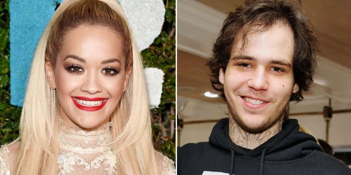 Ricky Hil and Rita Ora