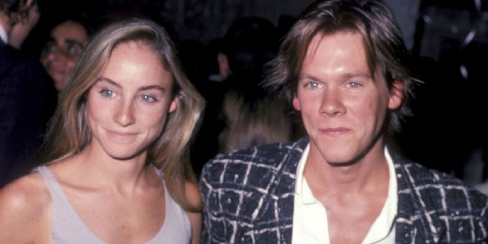 Kevin Bacon and Tracy Pollan