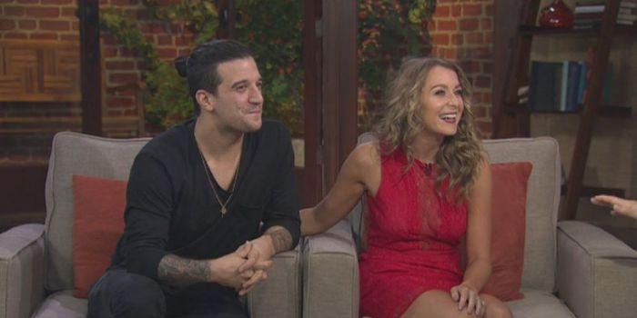 Mark Ballas and Alexa PenaVega