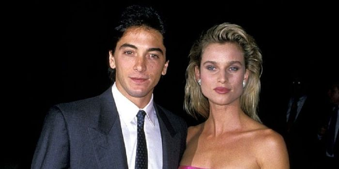 Nicolette Sheridan and Scott Baio