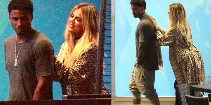 Khloé Kardashian and Trey Songz
