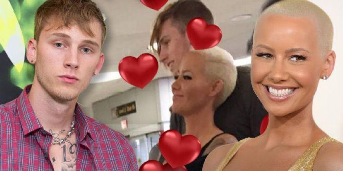 Amber Rose And Machine Gun Kelly Dating Gossip News Photos