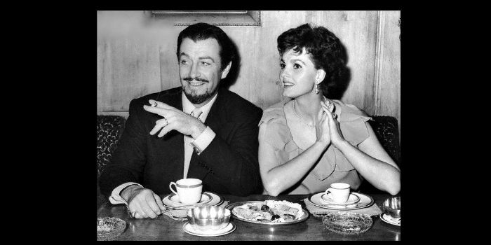 Robert Taylor and Ursula Thiess