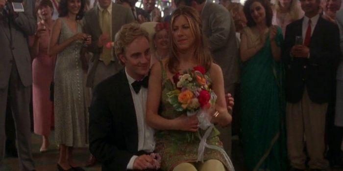 Jennifer Aniston and Jay Mohr